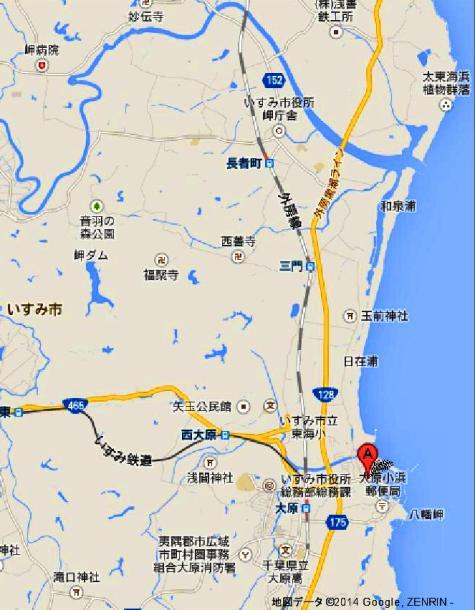 日本千葉県 大原漁港 - Google マップ-20001-2