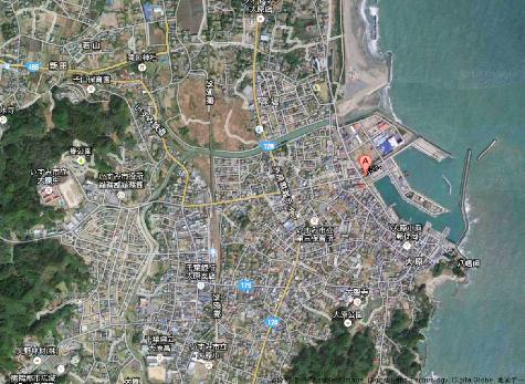 日本千葉県 大原漁港 - Google マップ-30001-2