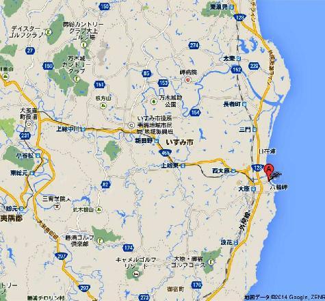 日本千葉県 大原漁港 - Google マップ0001-2