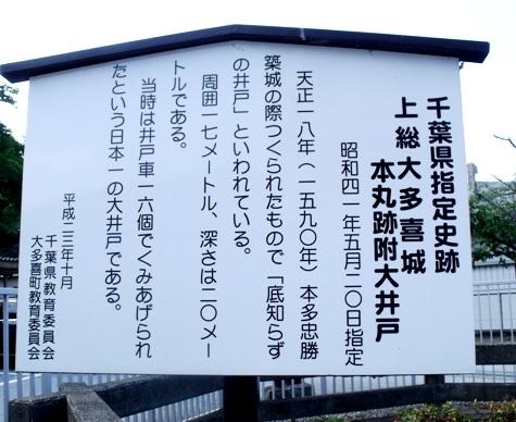 画像ー243大多喜城と薬医門 082-2