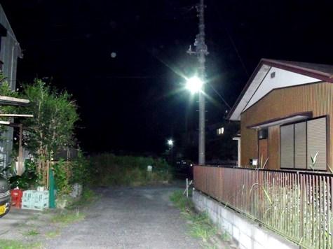 画像ー247 ハエ取り紙と湿度の低い時の夜景 009-2