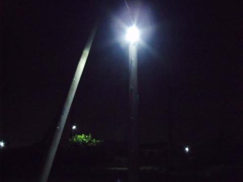 画像ー247 ハエ取り紙と湿度の低い時の夜景 010-2