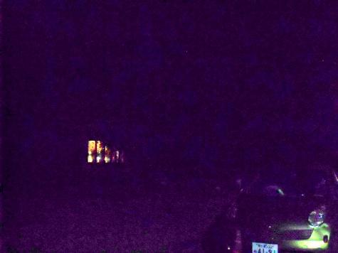 画像ー247 ハエ取り紙と湿度の低い時の夜景 012-2