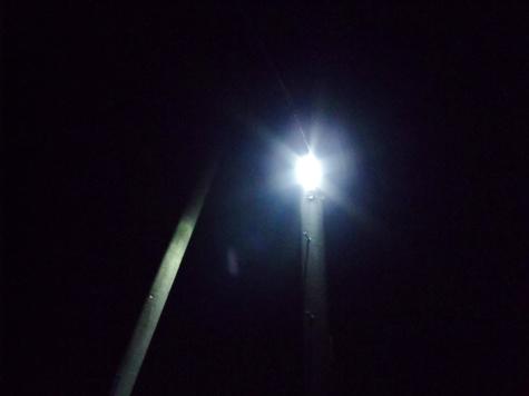 画像ー247 ハエ取り紙と湿度の低い時の夜景 019-2