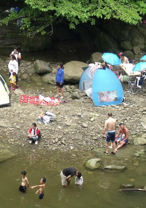 画像ー250 お盆供養と養老渓谷 052-3