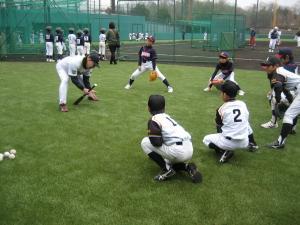 2014野球教室2