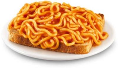 スパゲッティ・オンザ・トースト