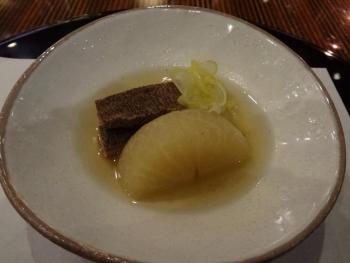 牛スジと大根の煮物