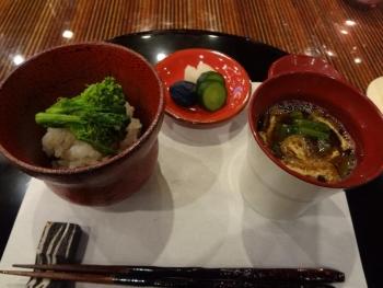 菜の花薬味寿司