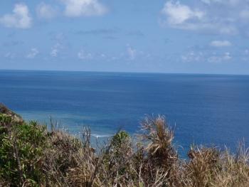 綺麗な東シナ海です