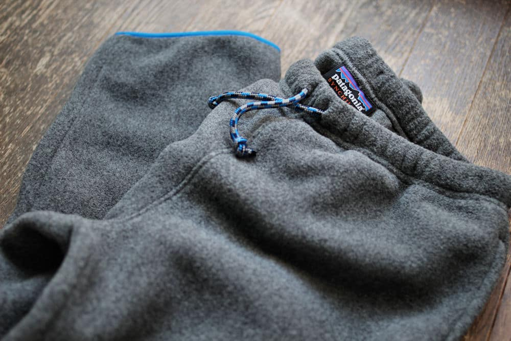 Patagonia Synchilla Snap-T Pants/パタゴニアのシンチラパンツ