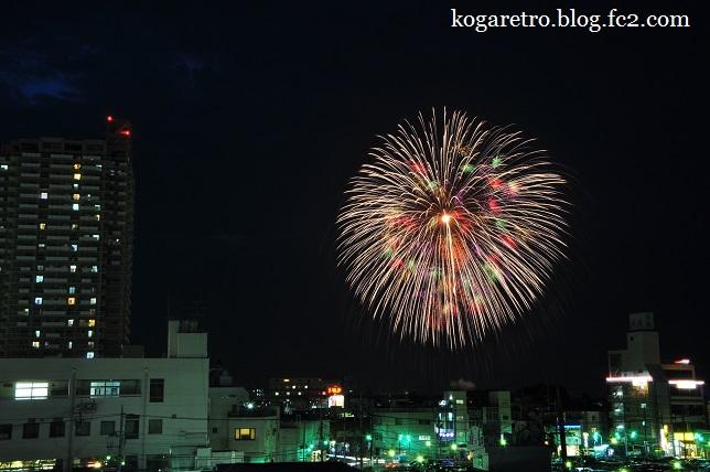 古河の花火大会