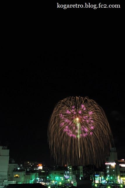 古河の花火大会4