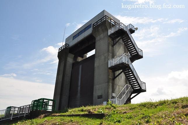 渡良瀬遊水地の水門2
