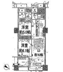 ブリリア有明タワーガーデン1133号間取り図_R