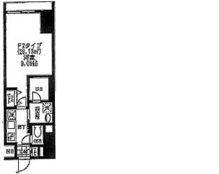 バレーヌ大森山王003号間取り図_R