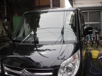 初の洗車パレットT