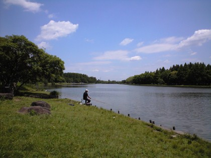 水元外溜の釣り