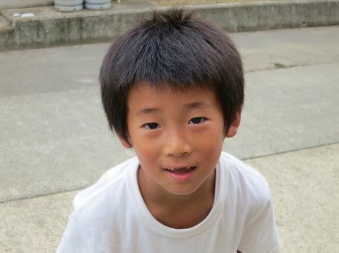 リョーくんは小学一年生