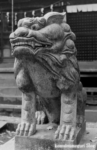 鳩峰八幡神社(所沢市久米)1