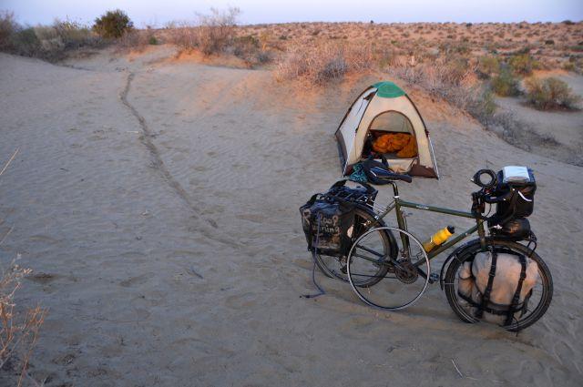 砂キャンプ1