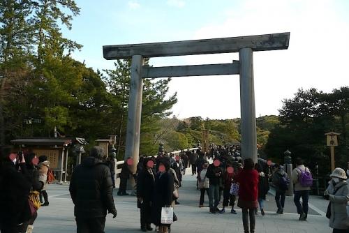 伊勢神宮内宮2013-12