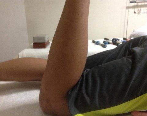 鈴木くんの膝
