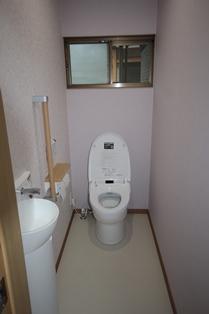 トイレ完了