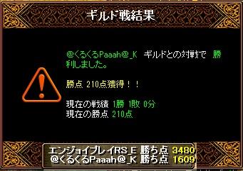 6月2日 エンジョイGv VS@くるくるPaaaah@_K様