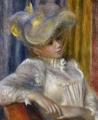 ルノワール:帽子の女