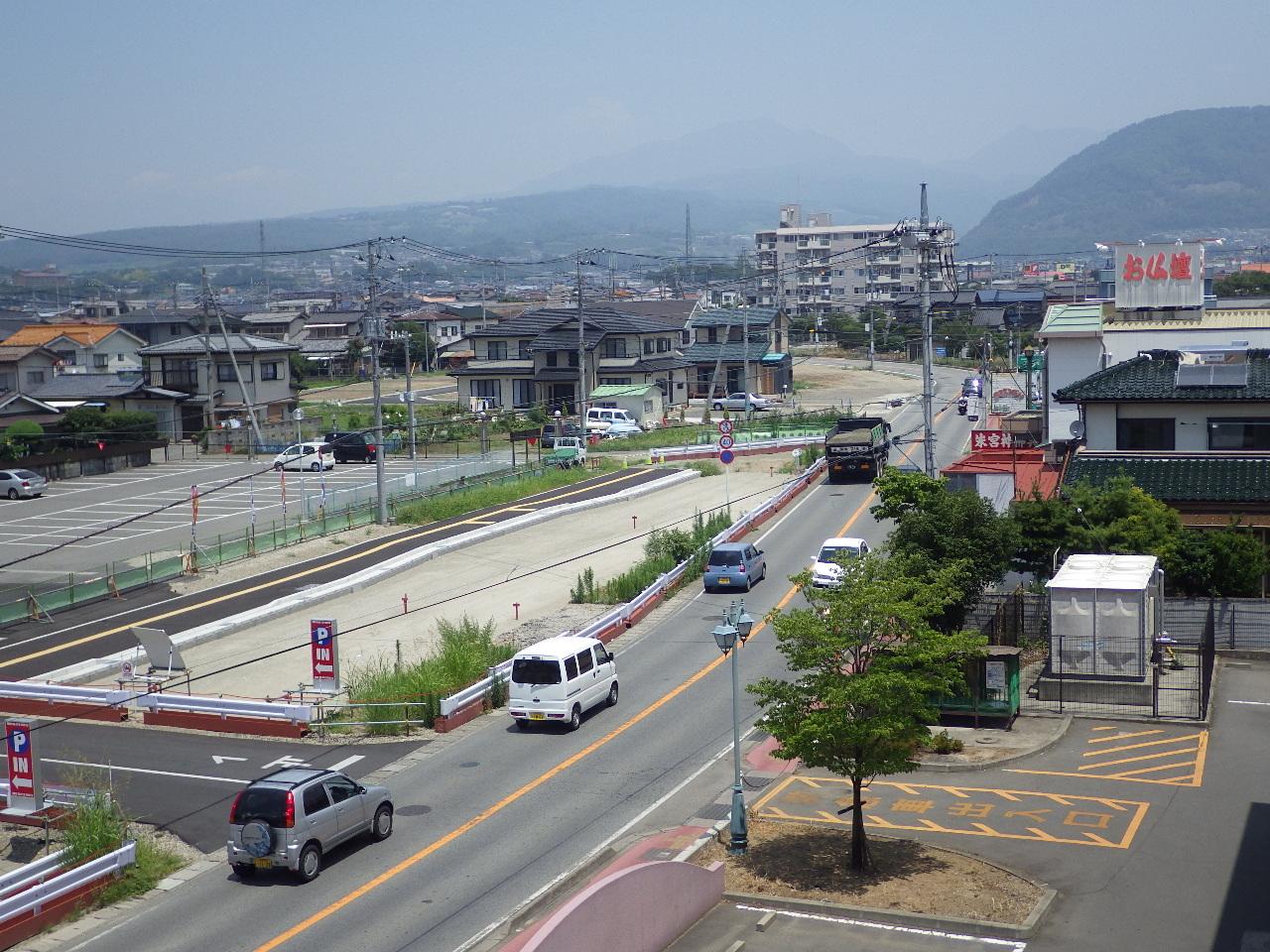 電共(田富敷島線)着工前1