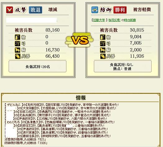 伊達桜花防衛2