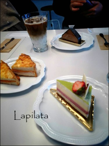turucafeケーキ