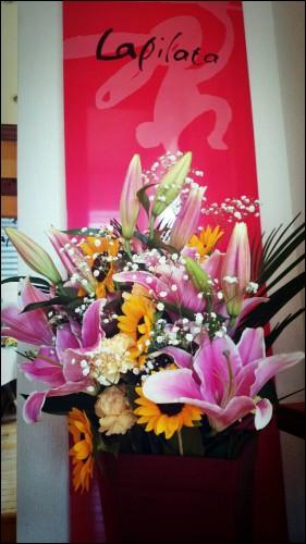 頂き物のお花