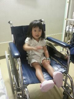 入院中の姫
