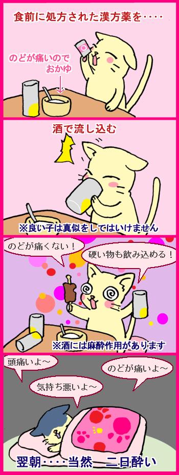 飲酒 喉 痛み