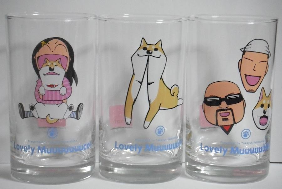 いとしのムーコ グラス 3種類