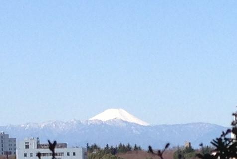 富士山も祝福!