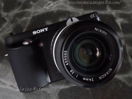 NEX-F3 + ニッコール24mmF2.8