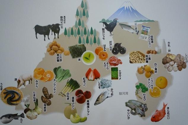 静岡の食材の一部