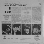 A Hard Day's Night (裏面)