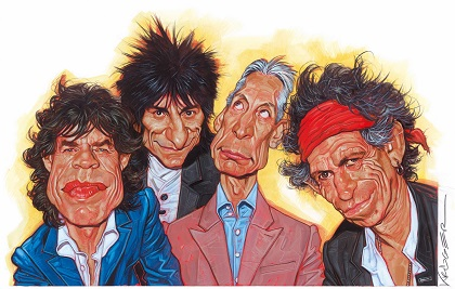 The Rolling Stones' Illustration