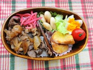牛丼弁当。