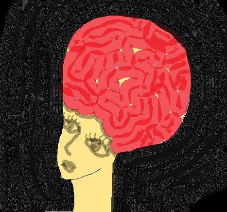 イラスト「脳トレ」