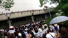 KAT-TUN 2014年コンサート グッズ行列画像
