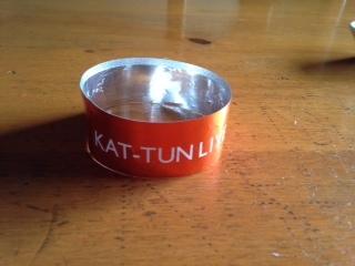 KAT-TUN2014年コンサート 銀テープ画像