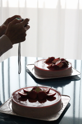 イチゴのムース3・5