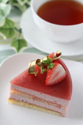 イチゴのムース15