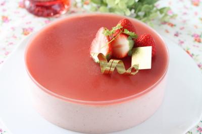 イチゴのムース15・1