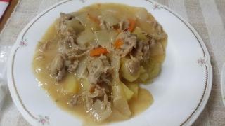 ポテトとお肉の煮込み